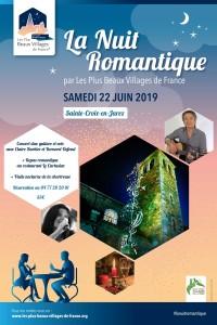 Affiche Nuit Romantique Ste Croix